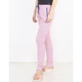Legging pyjama imprimé cercle 100% Coton