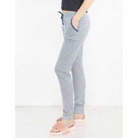 Legging pyjama imprimé Triangle 100% Coton
