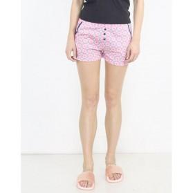 Short pyjama imprimé avec boutons 100% Coton-Cercle