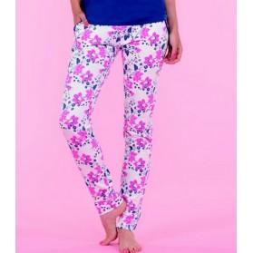 Legging pyjama imprimé Fleur 100% Coton