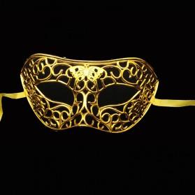 Masque avec dentelle-Noir