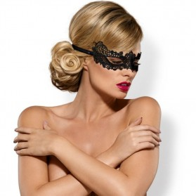 Masque tentation sensuelle-noir
