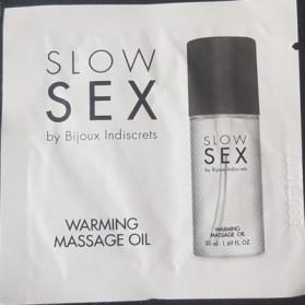 Sachet huile de massage chauffante