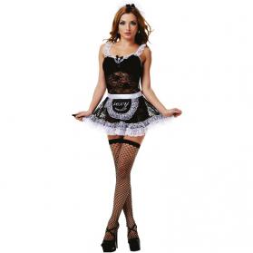 Costume femme de chambre 4 Pièces