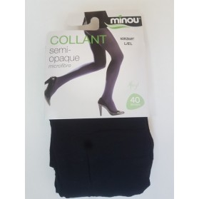 Collant semi-opaque microfibre-40