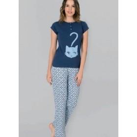 Pyjama 2 Pièces avec boutons